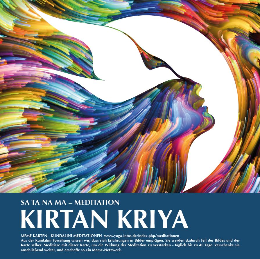 Kundalini Meme-Karte Nr. 1 (Kirtan Kriya) bestellen