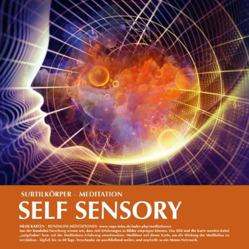 Kundalini Meme-Karte Nr. 2 (Self Sensory) bestellen